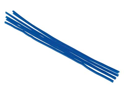 Ferris Cowdery Wax Profile Wire 90 Degree Corner Blue 1.5mm Pack of 6