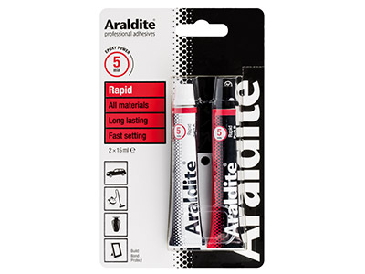 Araldite Rapid 2x15ml Tubes