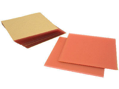 Flat Wax Sheets Box Of 15
