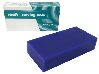 Ferris Wax Block 1lb, Blue, 6 X   3.5 X 1.5