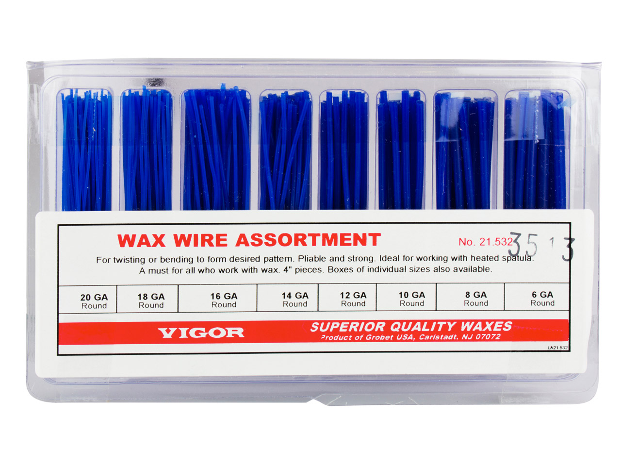 Ferris 'vigor' Wax Wire Assortment, Round