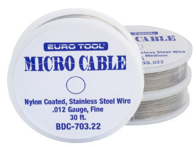 Nylon Coated Wire Heavy 0.53mm Also Know As Tigertail