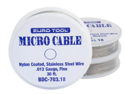 Nylon Coated Wire Medium 0.46mm, Also Known As Tigertail
