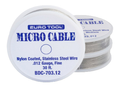Nylon Coated Wire Fine 0.31mm Also Known As Tigertail
