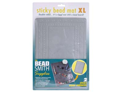 Beadsmith Xl Double Sided Sticky   Bead Mat