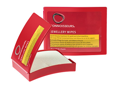 Connoisseurs-Jewellery-Wipes®------Pa...