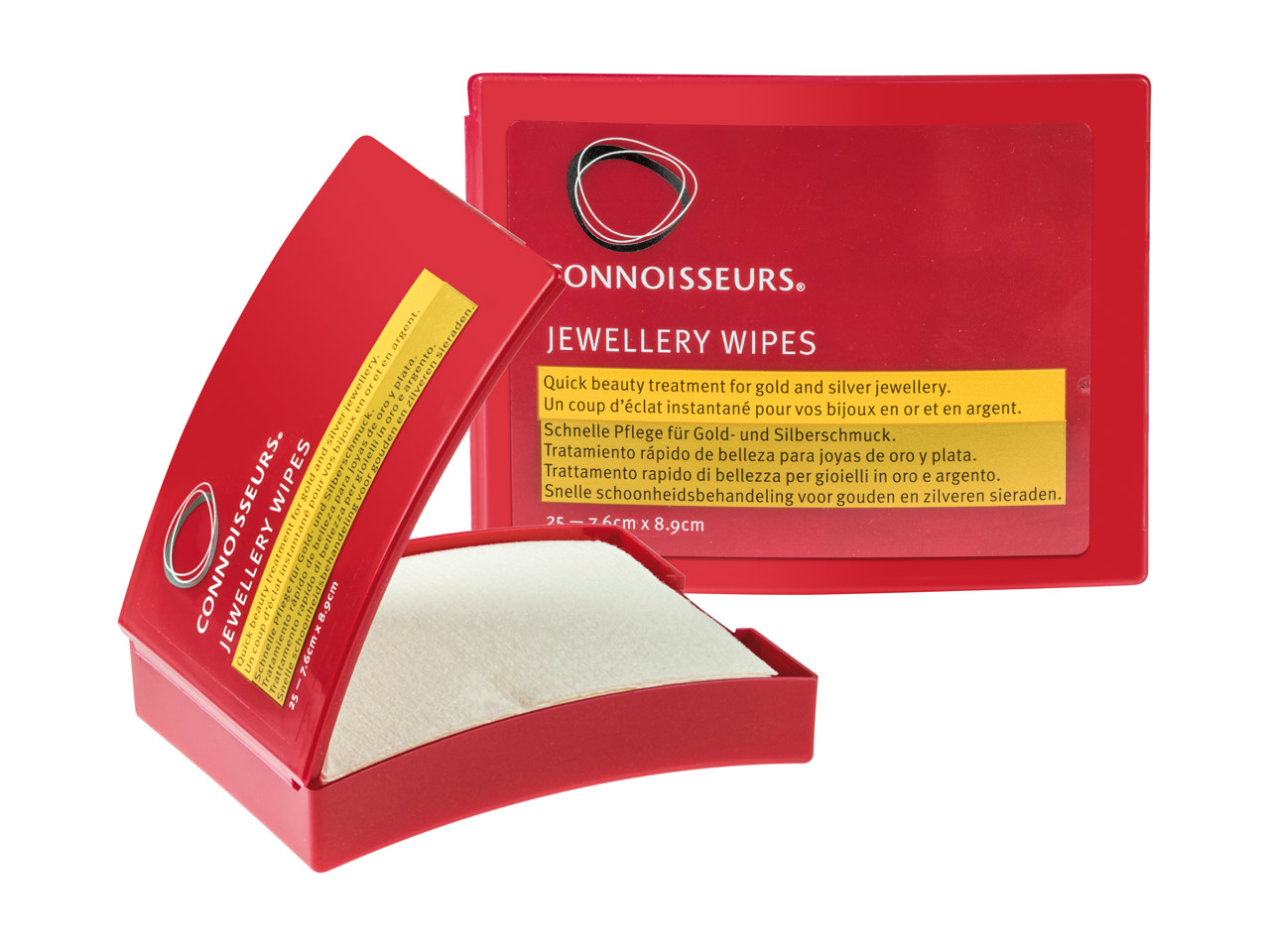 Connoisseurs Jewellery Wipes®      Pack of 25 Polishing Wipes