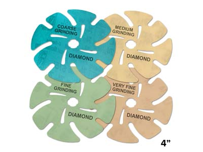 JoolTool 3M Microfinishing Diamond Disc Kit Pack of 4