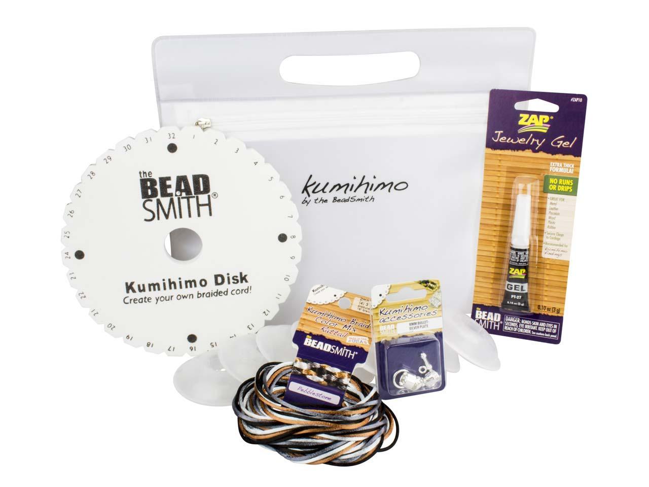 Beadsmith Kumihimo Braiding Kit For Beginners Cooksongold