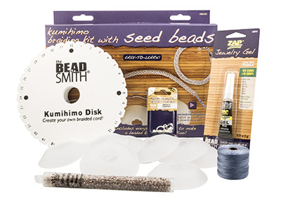 Beadsmith Kumihimo Braiding Kit For Seed Bead Designs