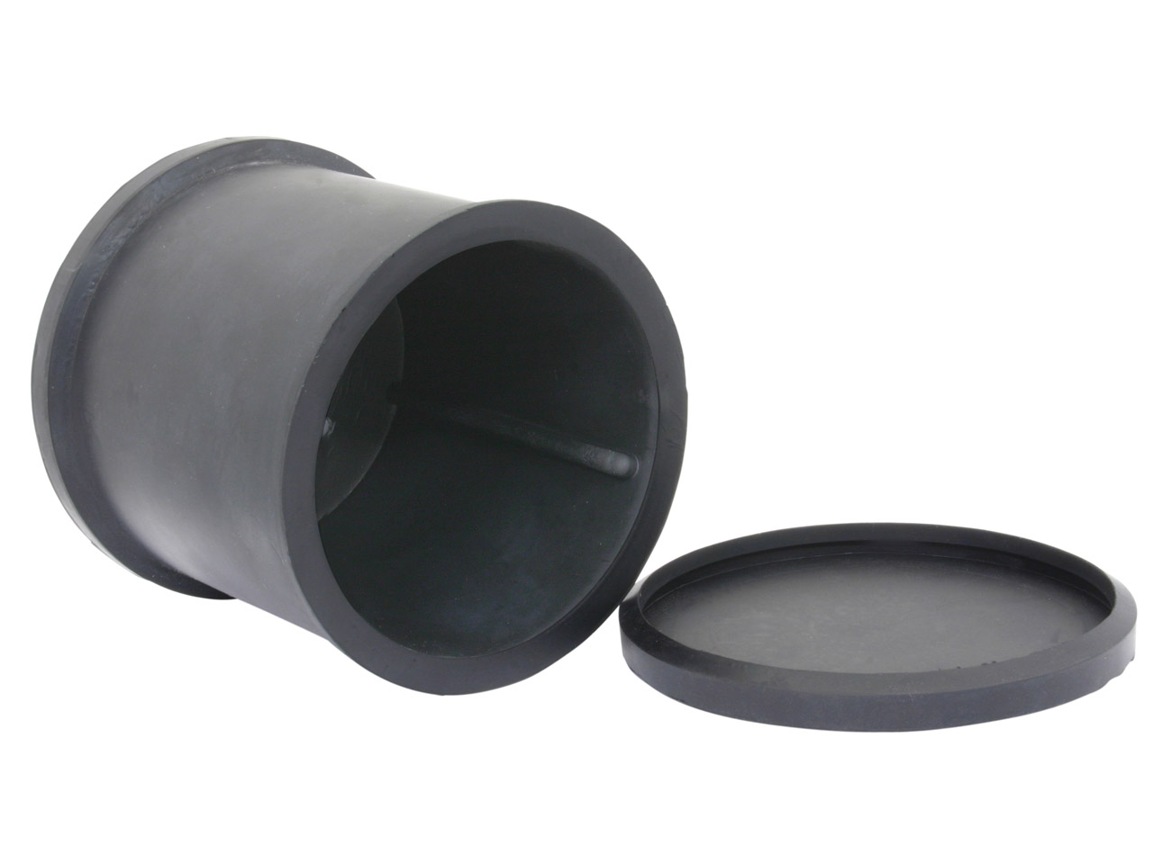 Spare Barrel With Rubber Lid,      Preferred For Metal