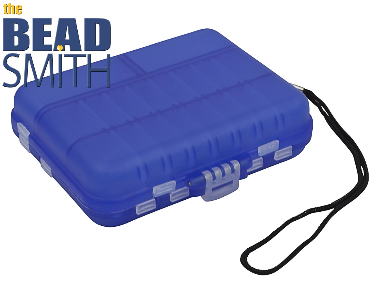 Beadsmith Blue Mini Travel Box