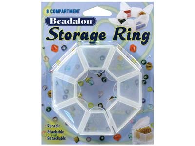 Beadalon-Bead-Storage-Ring,-With-8-Se...