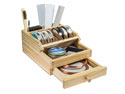 Wooden-Benchtop-Organiser-With-----Dr...