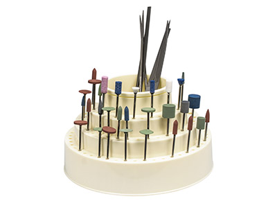 Revolving-Plastic-Burr-Stand-For---11...