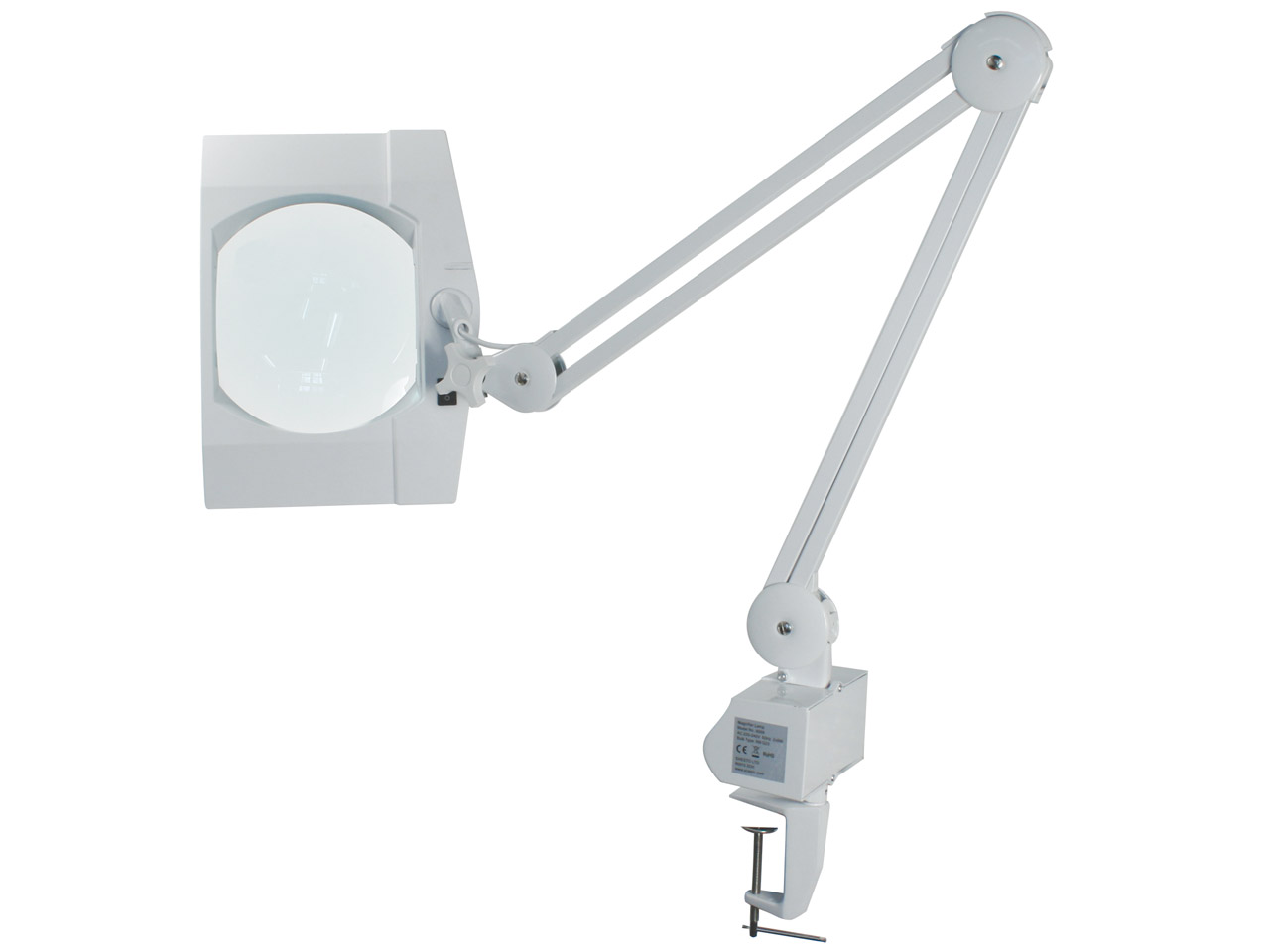 Rectangular Illuminated Magnifying Lamp