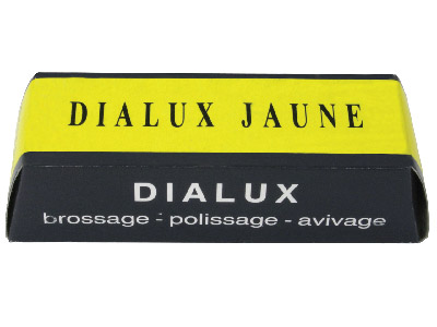 Yellow Dialux For Pre-polishing Non Ferious Metals And Plastics, 100g