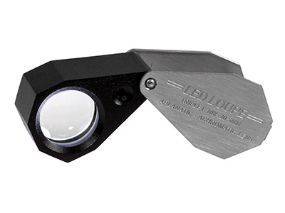 Loupe With LED Light X10           Magnification