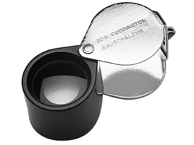 Jewellers Loupe 20x Magnification  Focal Length