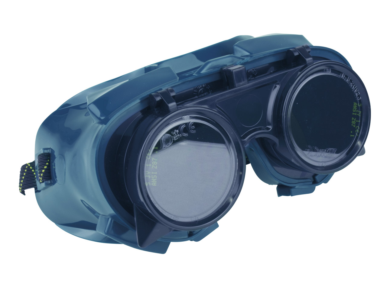 Welding Cup Goggle With Dark Lens