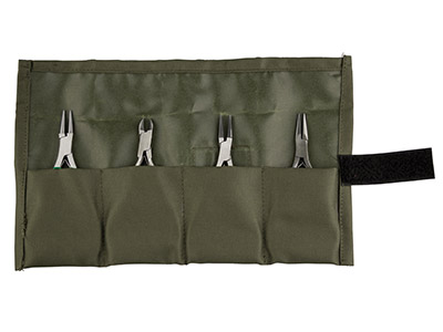 Jewellery Pliers Set In Canvas Wallet Cookson Value Range