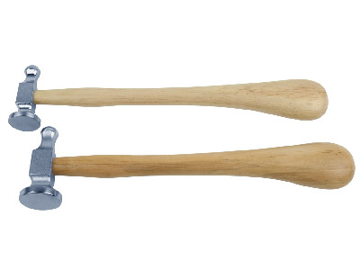Set Of 2 Repousse Hammers