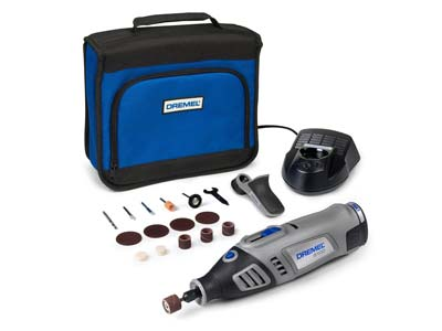 Dremel 8100 Cordless Drill Lithium-ion New Model With 15 Accessories