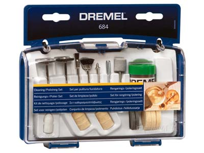 Dremel Cleaning Polishing Accessory Set