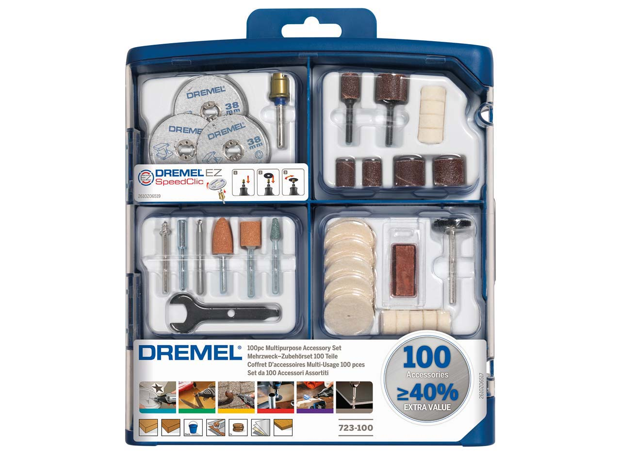 Dremel Accessory Set 100 Pieces