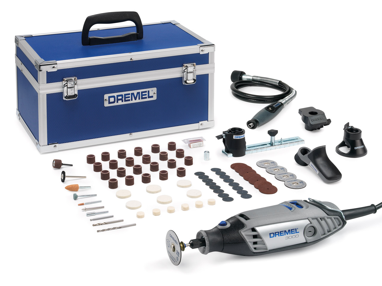 Dremel 3000 5 Star Promo Christmas Kit 75 Accessories