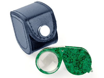 Loupe Triplet Type Green X10       Magnification