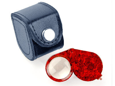 Eye Loupe Triplet Type Red