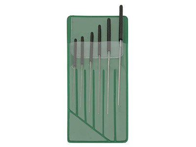 Broacher  Reamer File Set Small 0.4-1.4mm - Set Of 6