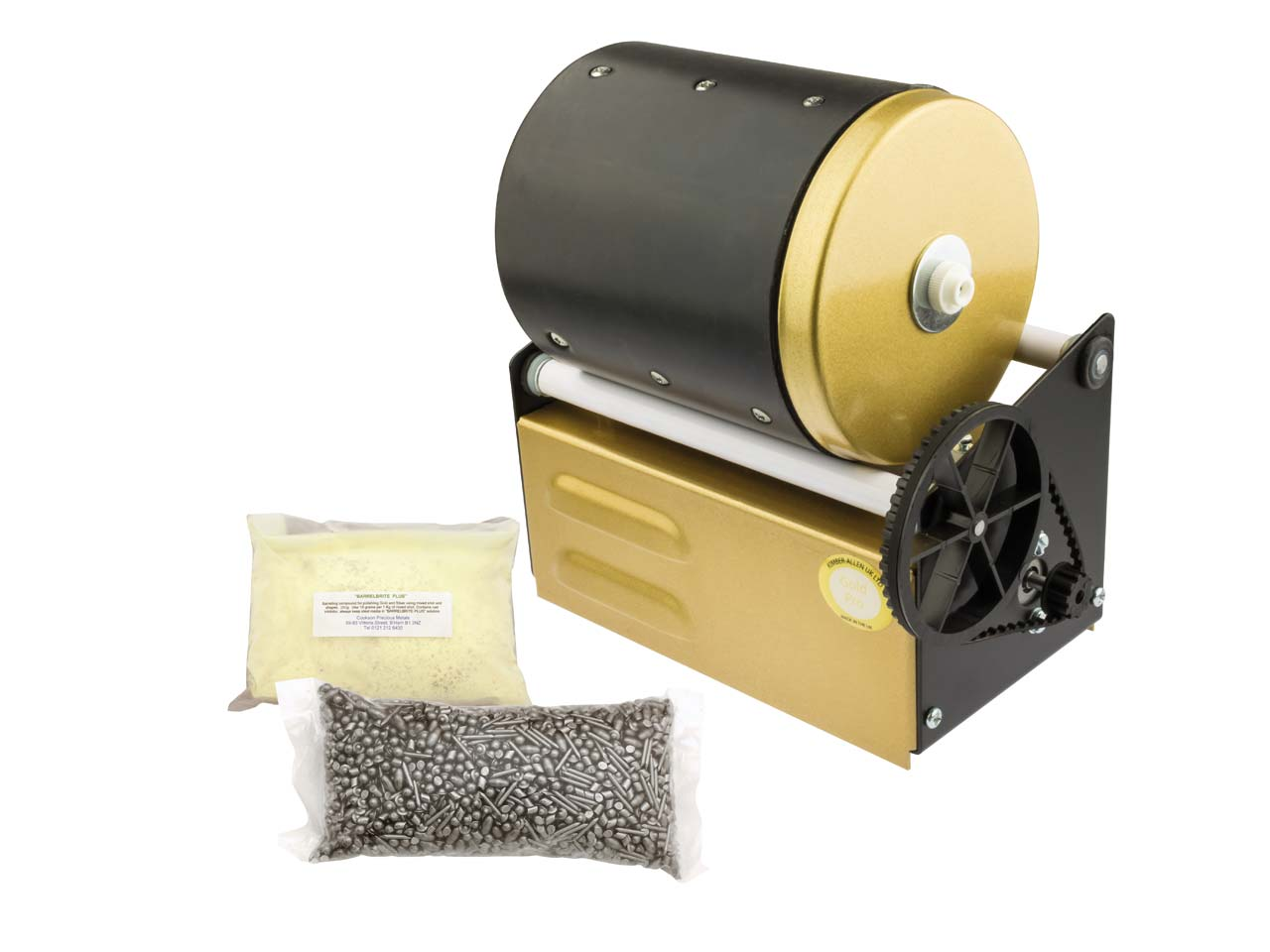Cooksongold Stone Tumbling 2lb Jeweller/'s Barrelling Unit or Spare Accessories