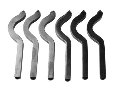 Metal Marking Bent Shank Stamp Set Of 6