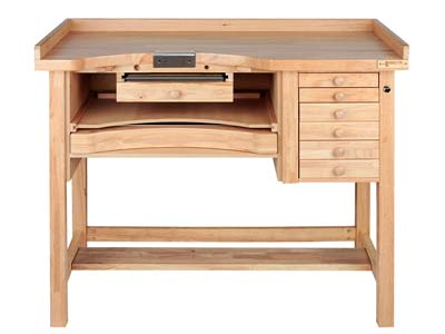 Durston Jewellers Oak Workbench,   Superior