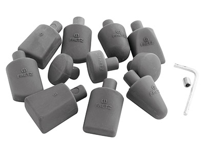 Nylon Inserts For Fretz Planishing Hammer Set Of 11