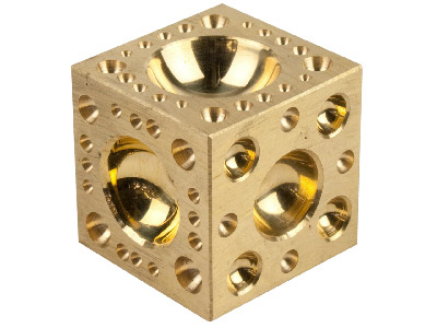 2 Brass Doming Block Cookson Value Range