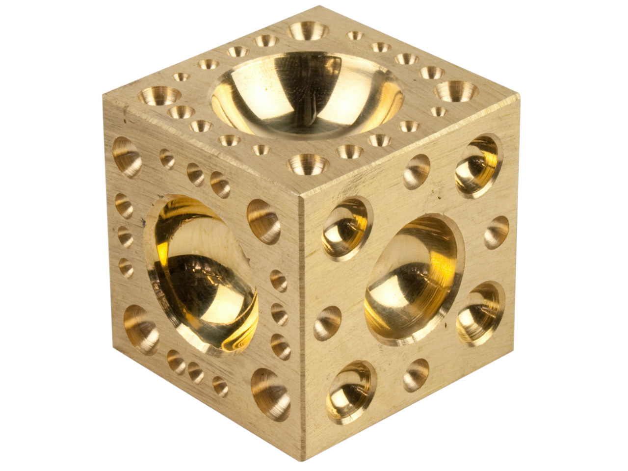 Brass Doming Block 2