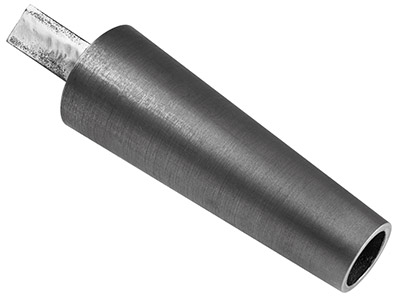 Durston Cast Iron Round Bracelet   Mandrel With Tang 50  75mm