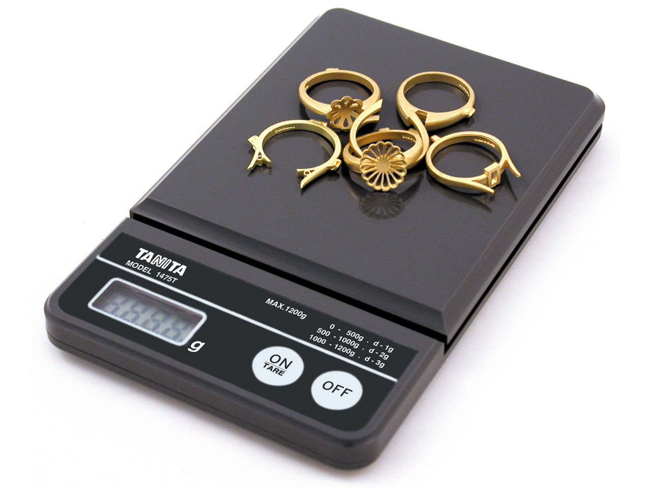 Tanita Scale 1475t, 1200gm With    Cover