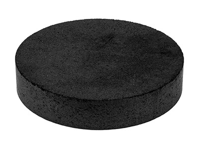 Compressed Round Charcoal Block    Hard 150mm