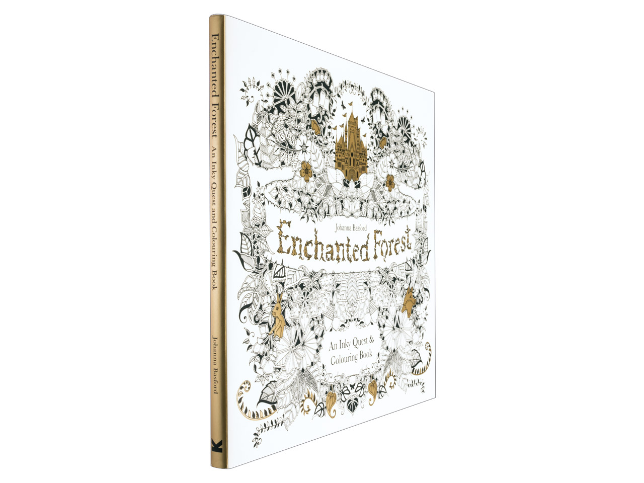 Enchanted Forest An Inky Quest And Colouring Book By