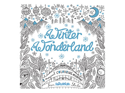Winter Wonderland A Magical       Colouring Adventure By Paper And   Cloth