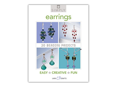 Simply Earrings 20 Beading Projects Lark Crafts