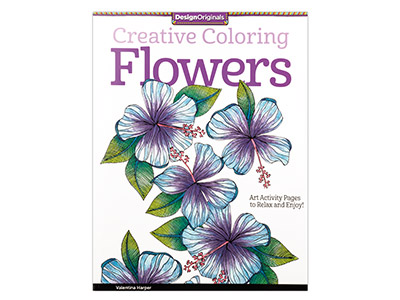 Creative Colouring Flowers
