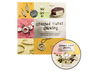 Stamped Metal Jewellery By Lisa    Niven Kelly With Bonus DVD
