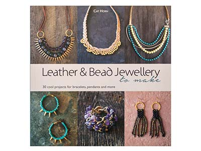 Leather And Bead Jewellery By Cat  Horn