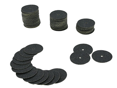 Paper Discs - Coarse 100pcs  Box Of 100