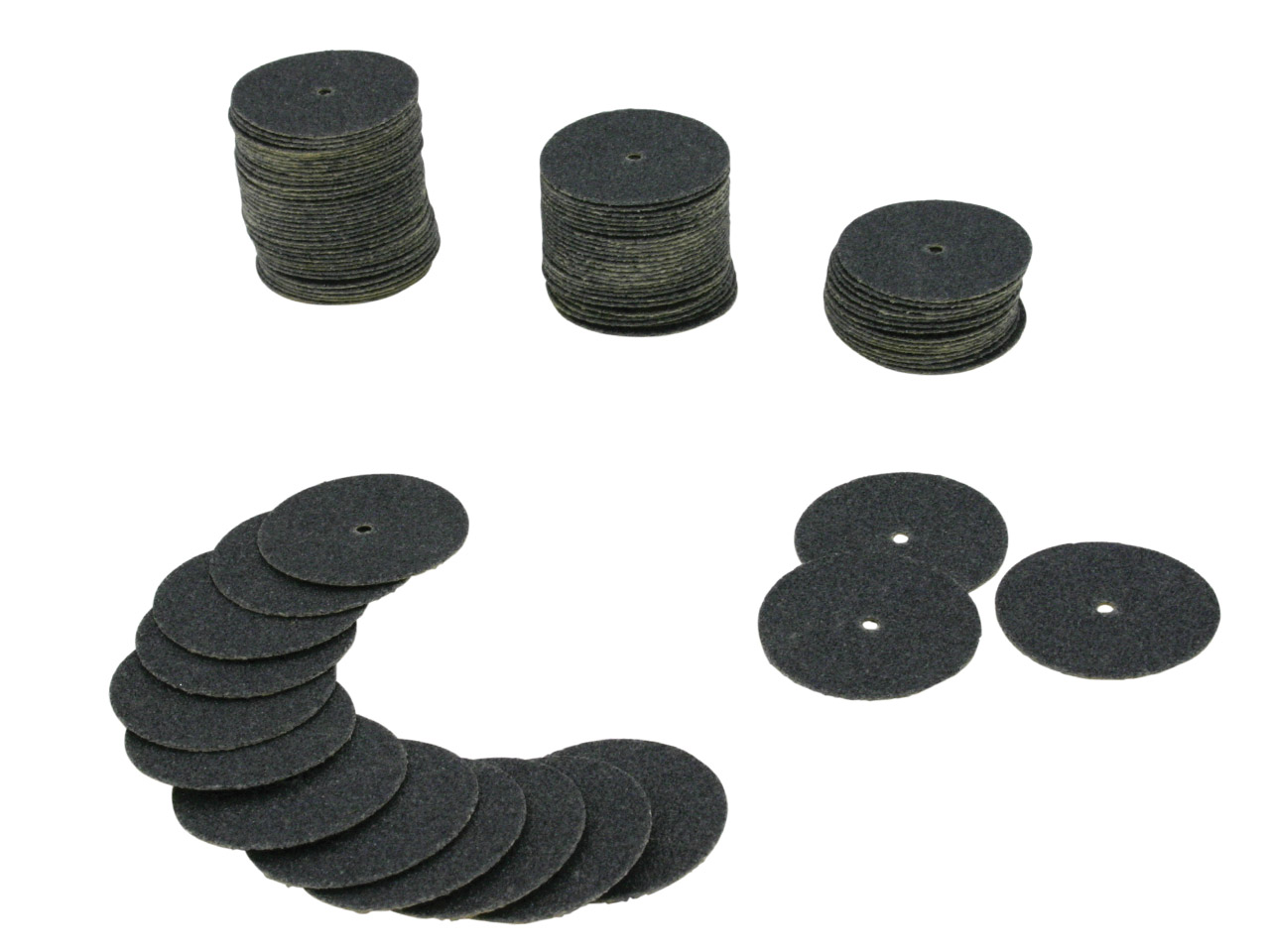 Paper Discs, Coarse, 100 Pcs, Box  Of 100